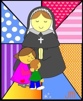 El dibujo fue realizado por la prof. Liliana Carlos de la comunidad educativa de Florencio Varela.